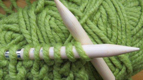 ParidIshøj strikker