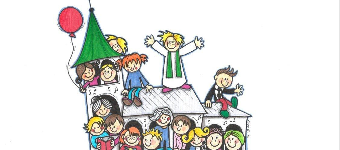 Børnegudstjeneste i Nibe kirke