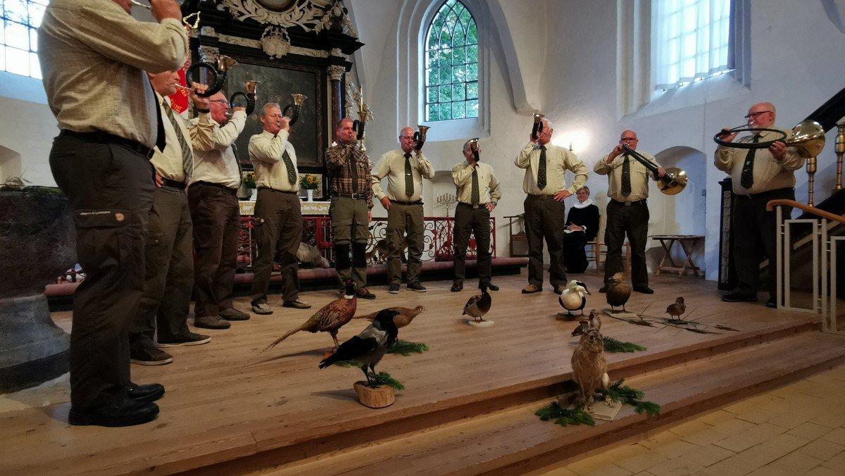 Jagtgudstjeneste i Nibe kirke - m spisning