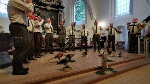 Jagtgudstjeneste i Nibe kirke