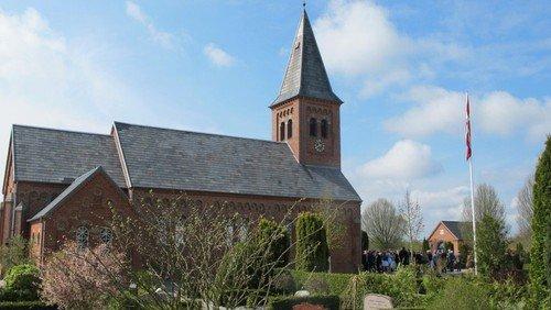 Høstgudstjeneste samt orgelindvielse og kunst i Gludsted kirke