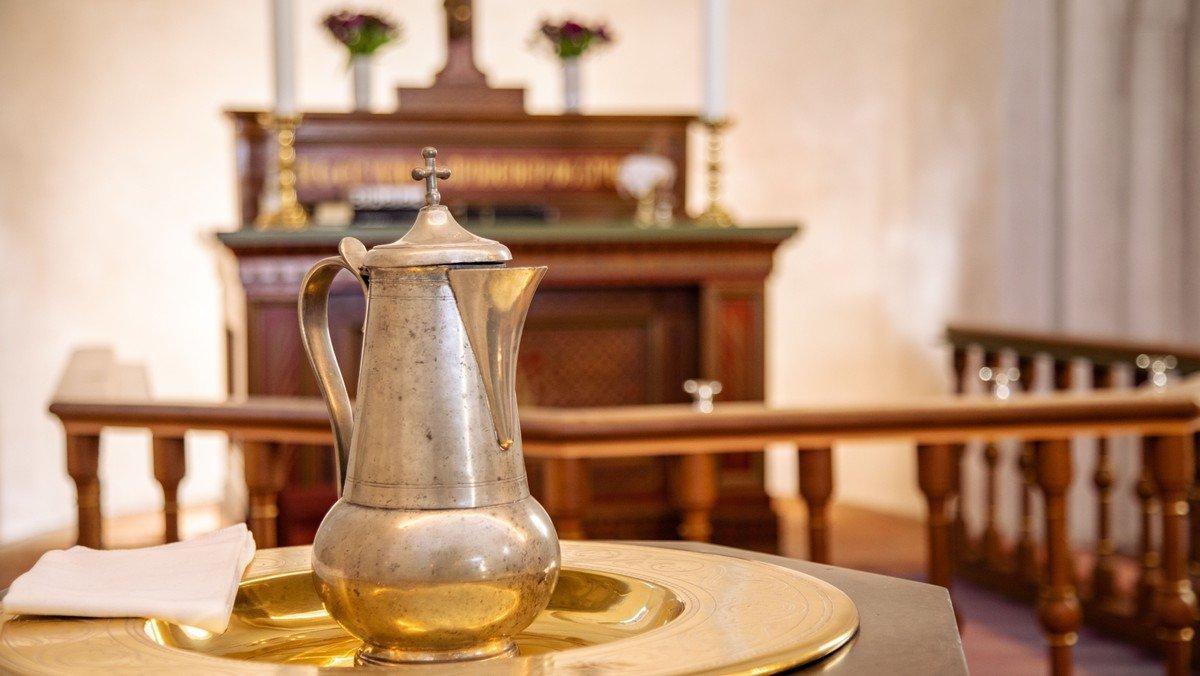Tumlingedåb i Ny Vor Frue kirke