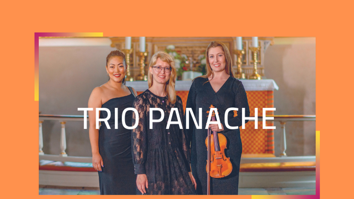 Koncert med Trio Panache