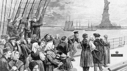 Ind- og udvandring fra Amerika i Fra Smil til Smil