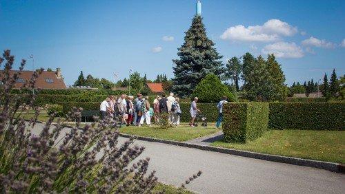 ÅBENT HUS på kirkegården