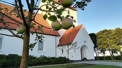 Generalprøve konfirmander i Hampen kirke