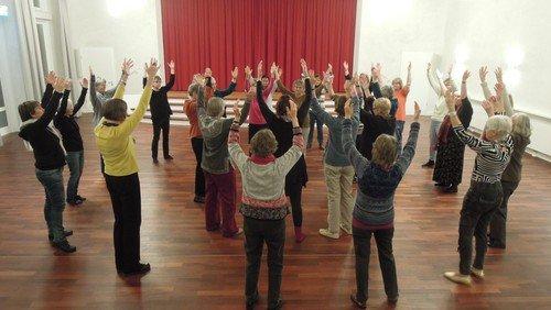 Sakraler Tanz für Frauen - fällt heute aus!