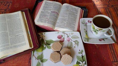 Bibelcafé in Matthias Claudius
