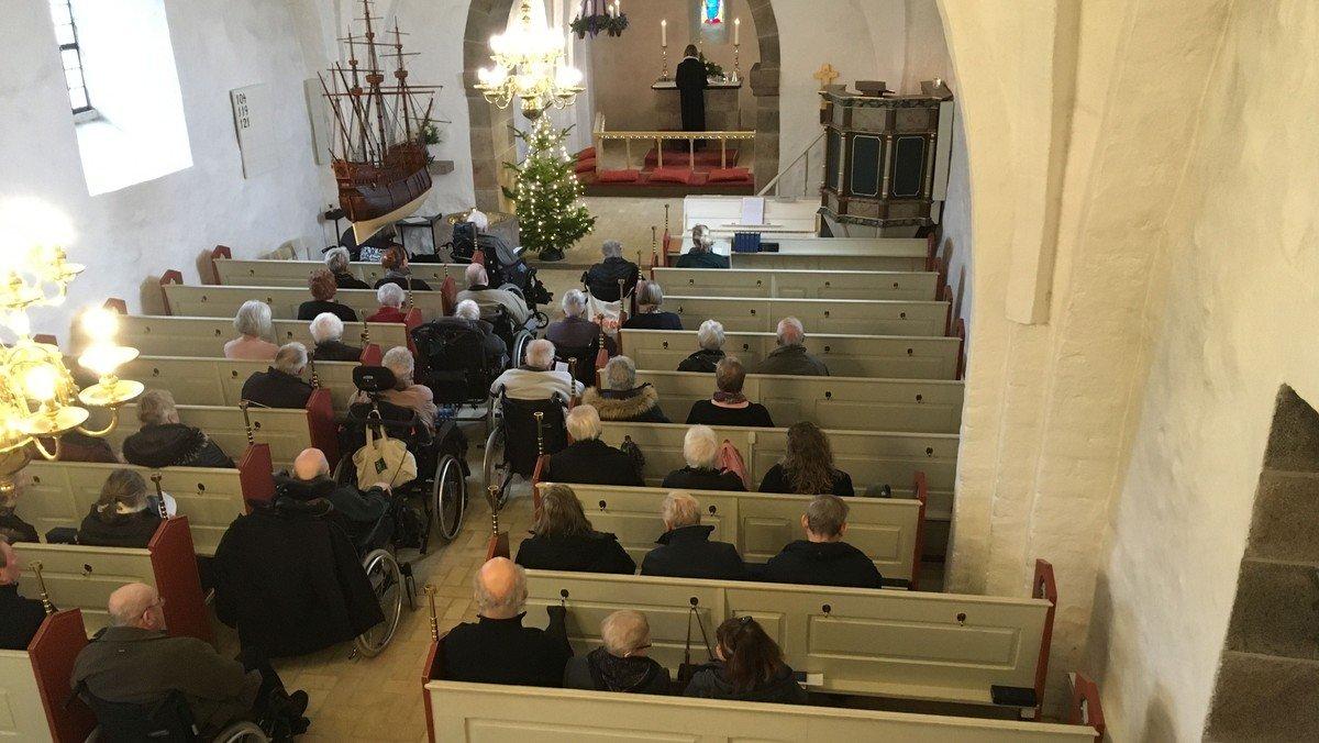 Lykkevang gudstjeneste i Svenstrup kirke