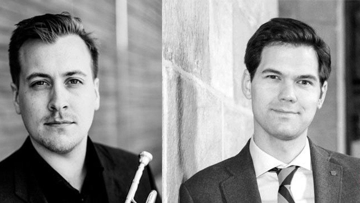 Festkoncert med Domorganist Robert Bennesh & solotrompetist Gustav Melander, Sverige.