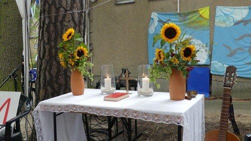 Familiengottesdienst zum Gemeinden-Dank-Fest in Konradshöhe