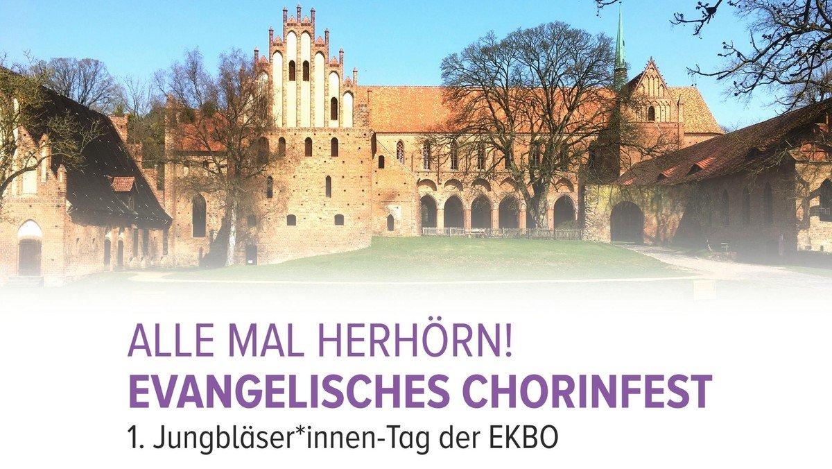 """""""ALLE MAL HERHÖRN!"""" - 1. Jungbläser*innen-Tag der EKBO in Chorin"""