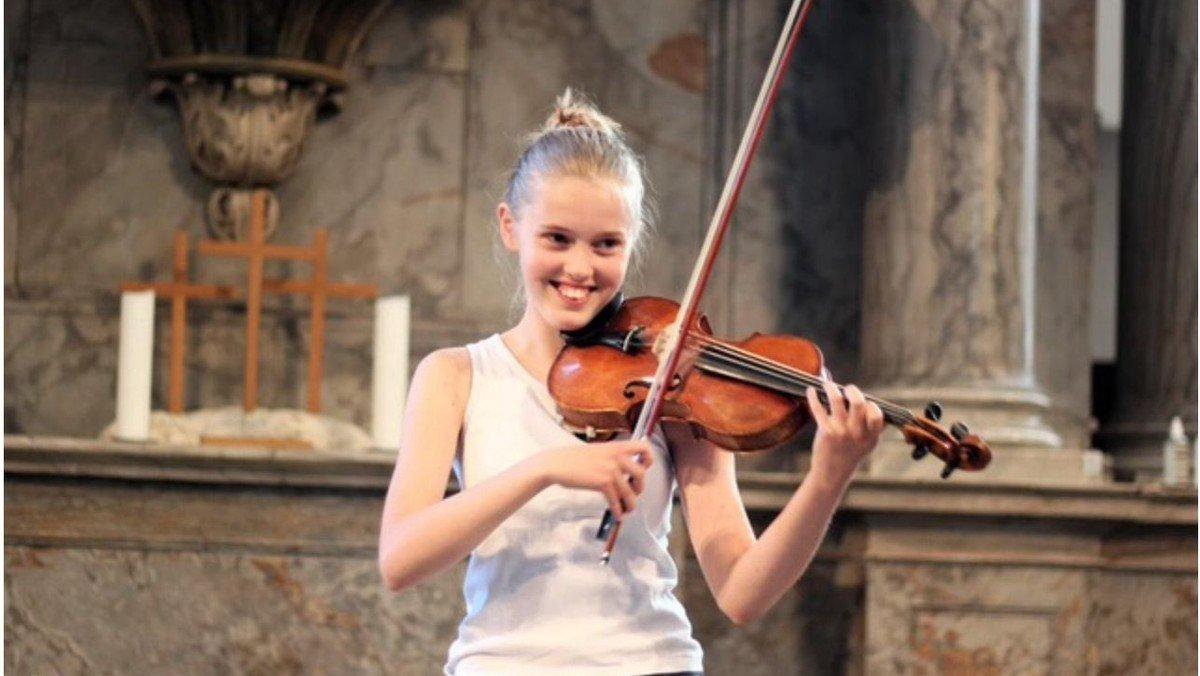 Koncert med violin og klaver