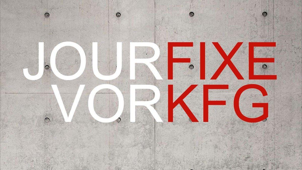 Donnerstagskultur und Donnerstagsgespräche vor KFG