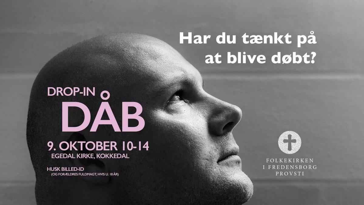 Drop in-dåb i Egedal Kirke for alle i Humlebæk