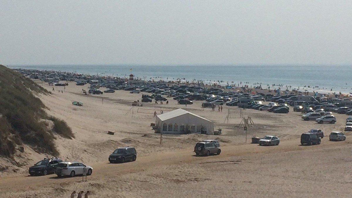 Andagt på Vejers strand i teltet kl. 10.00
