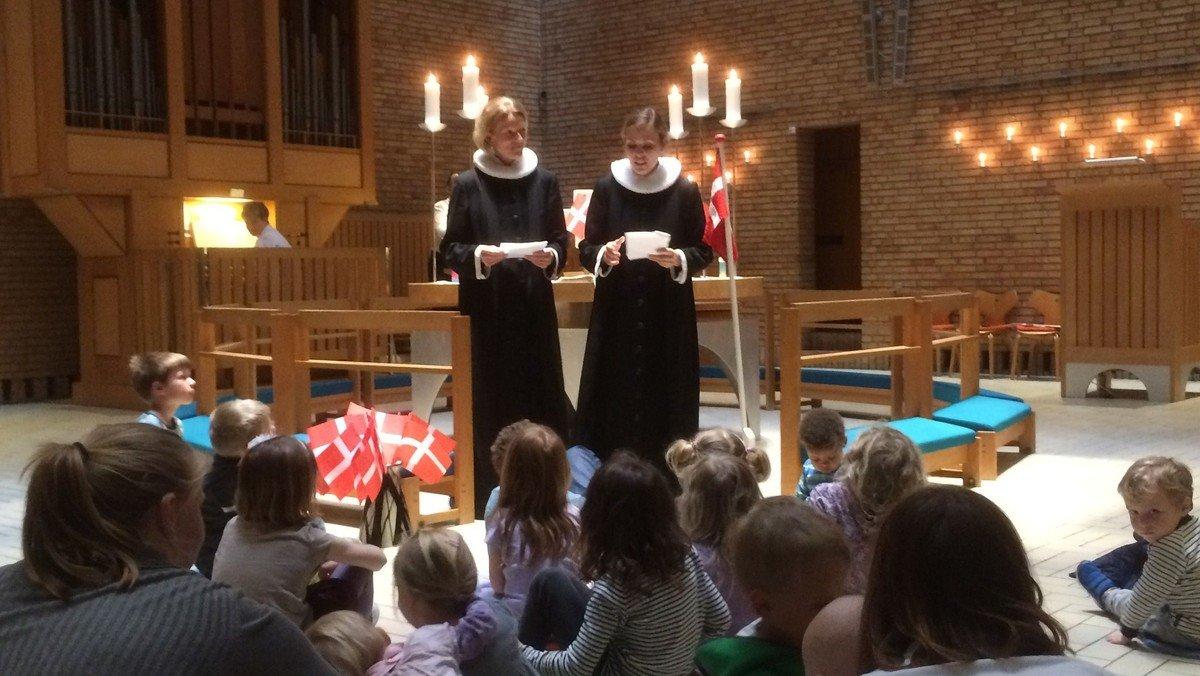 Børnegudstjeneste - Gud og frikadeller