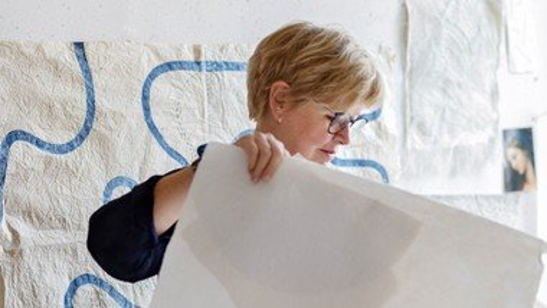 Dronningens kirketekstiler - foredrag ved Vibeke Lindhardt