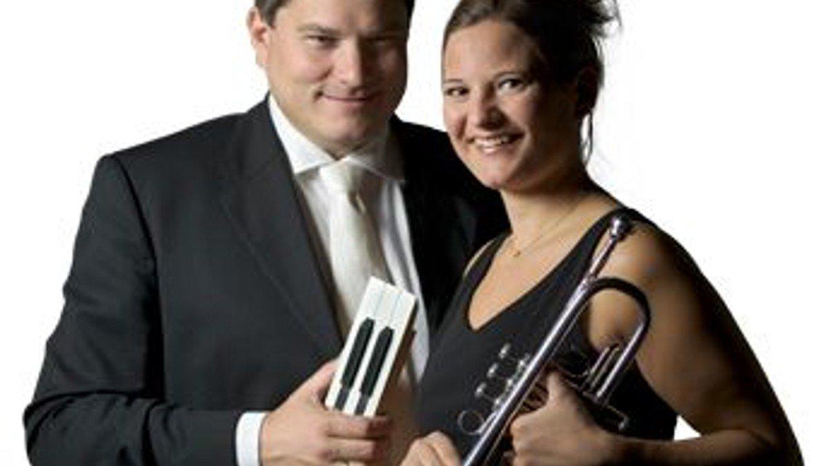 Koncert med Dorthe Zielke og Søren Johansen, Trompet og Orgel Duo  i Grenaa Kirke
