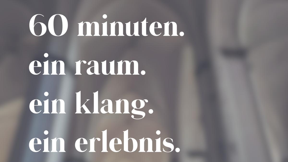 Konzert - #resonanzRÄUME – Musik in Kirchen