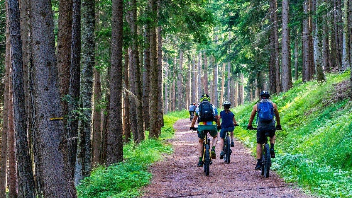 Kinder-Fahrradtour