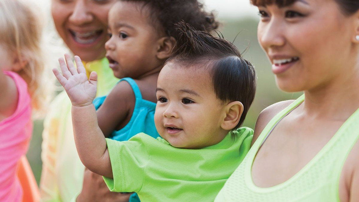 Baby and carer group