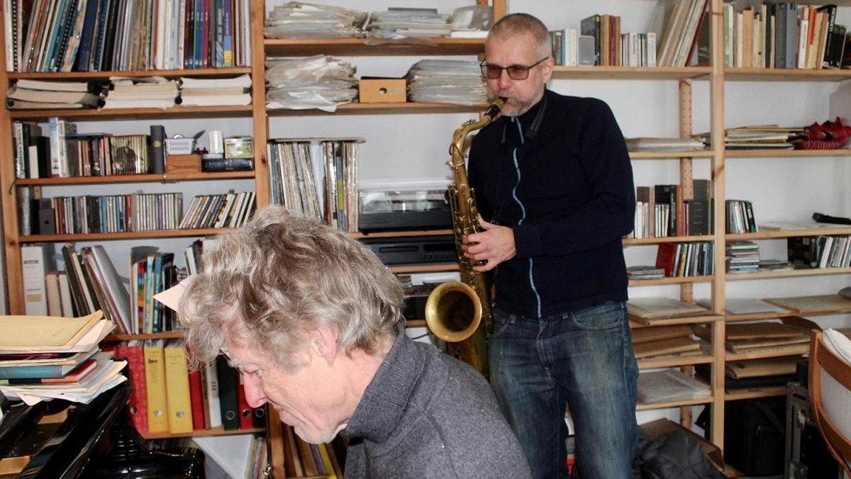 Emil Hess og Thomas Clausen