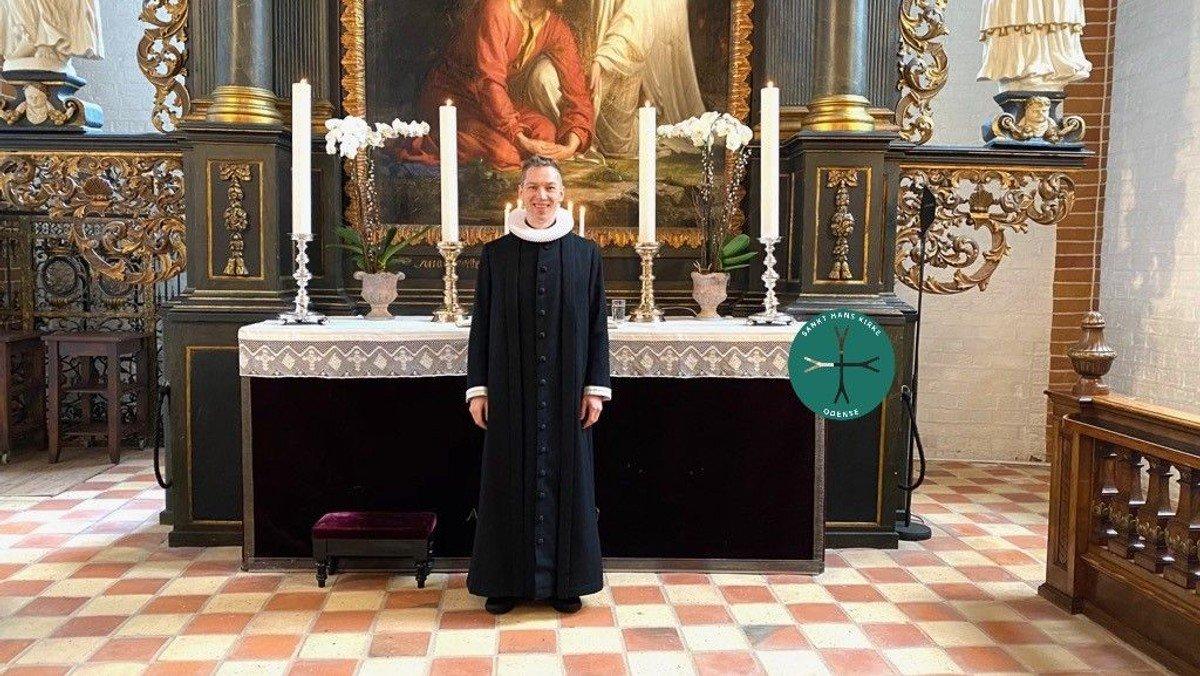 Julegudstjeneste v. Christian P. Medom