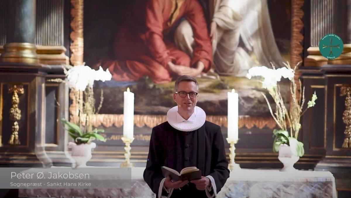 Gudstjeneste v. Peter Ø. Jacobsen