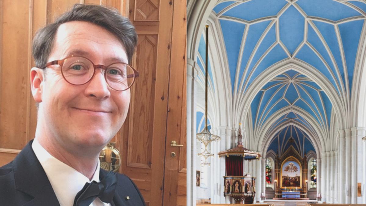 Foredrag om Sankt Johannes Kirke ved kirketjener Tommy Andersen