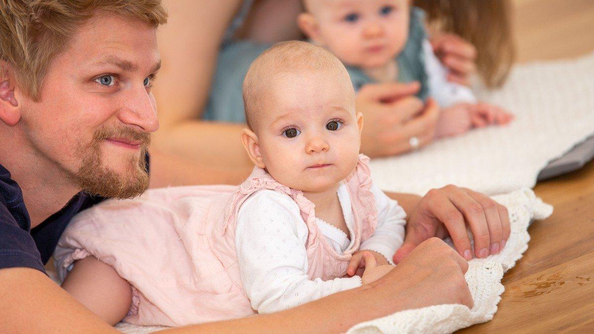 Babysalmesang på Kirkeskibet