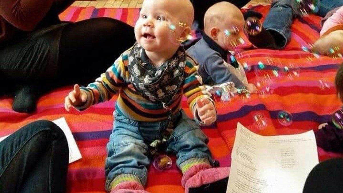 Babysalmesang på Dranchmannshave