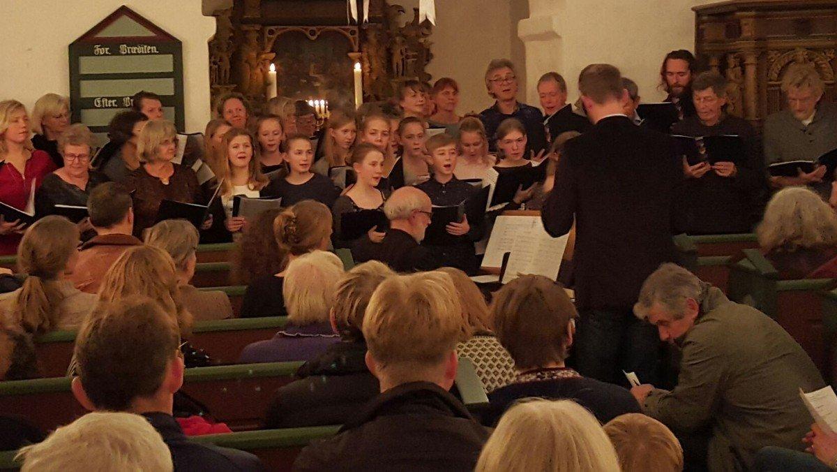 Adventskoncert i Vrads kirke