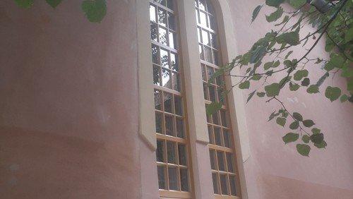 Festgottesdienst  zu unseren neuen Fenstern
