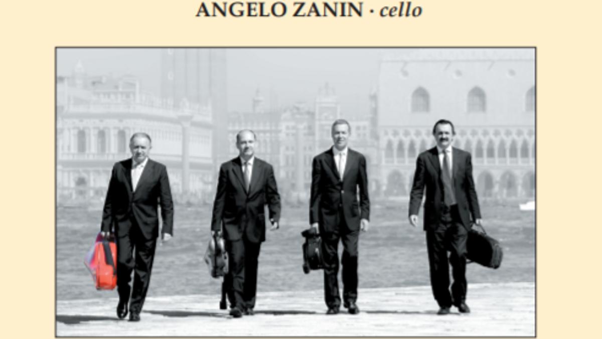 Koncert med Venedigs Strygekvartet - Quartetto di Venezia