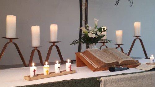 Gemeinsamer Gottesdienst in Hephatha mit Begrüßung der neuen Konfirmanden