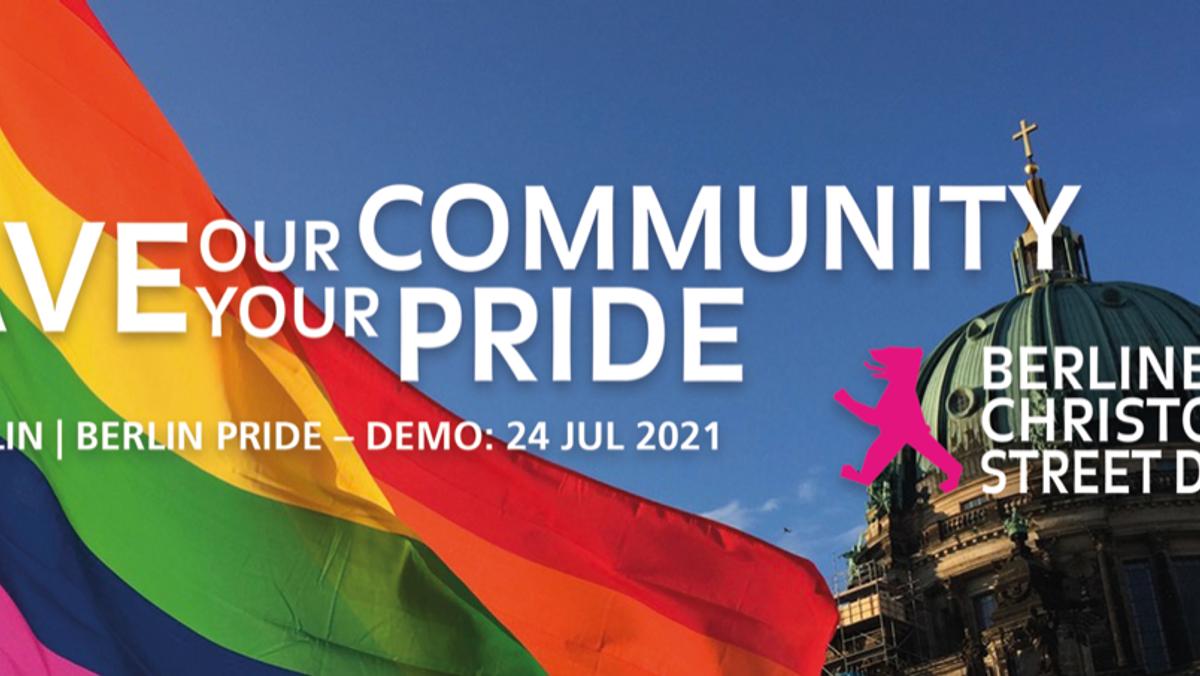 CSD Berlin   Berlin Pride 2021