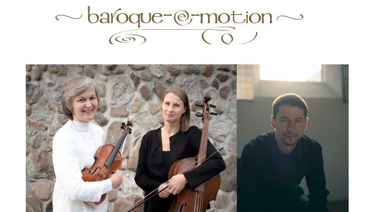 """Kleines Festival der Barockmusik: """"Johann Paul Westhoff, seine Violinsonaten, seine Reisen"""" mit dem Ensemble baroque-e-motion"""