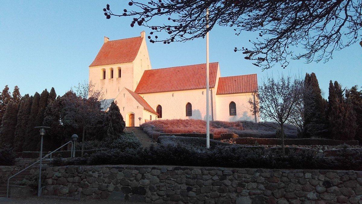 Allehelgensgudstjeneste i Sdr. Asmindrup Kirke v. Sophie Juel