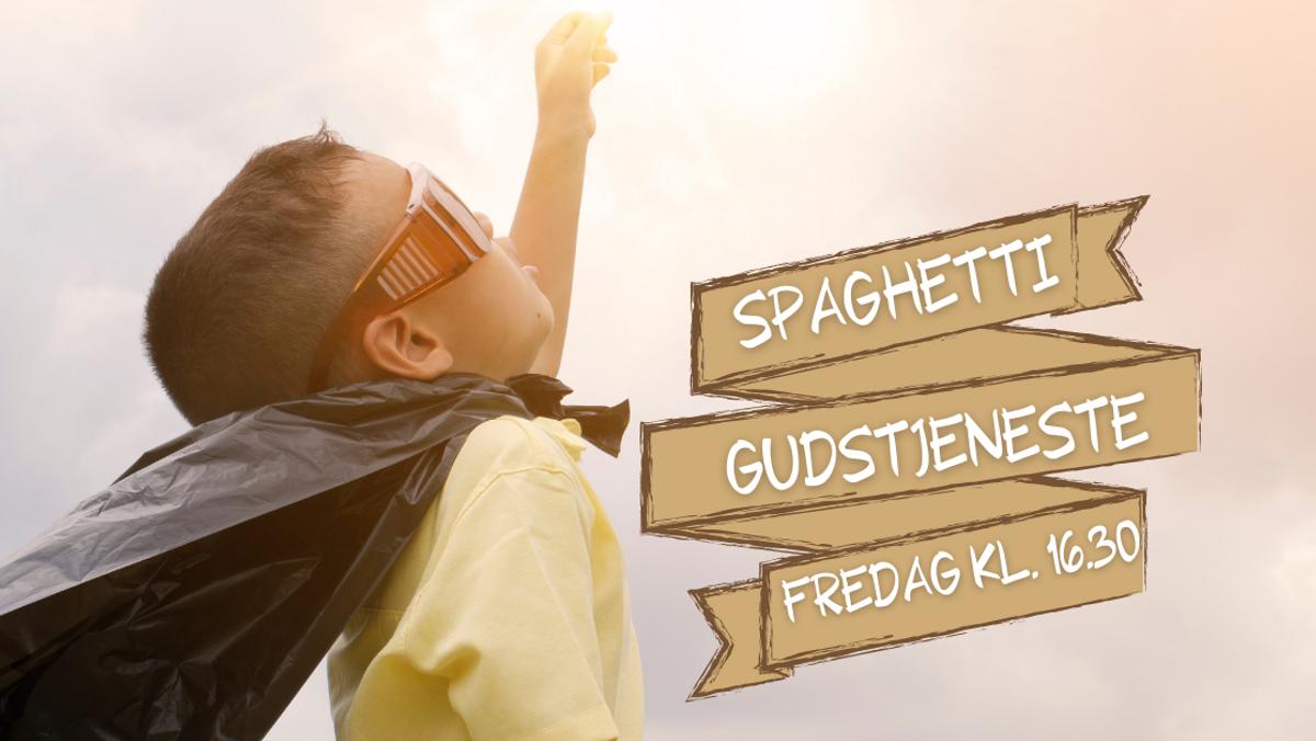 Aflyst - Spaghetti-gudstjeneste /Anders Jensen