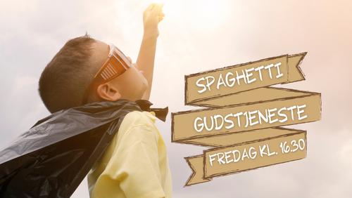Spaghetti-gudstjeneste /Andreas Bøge