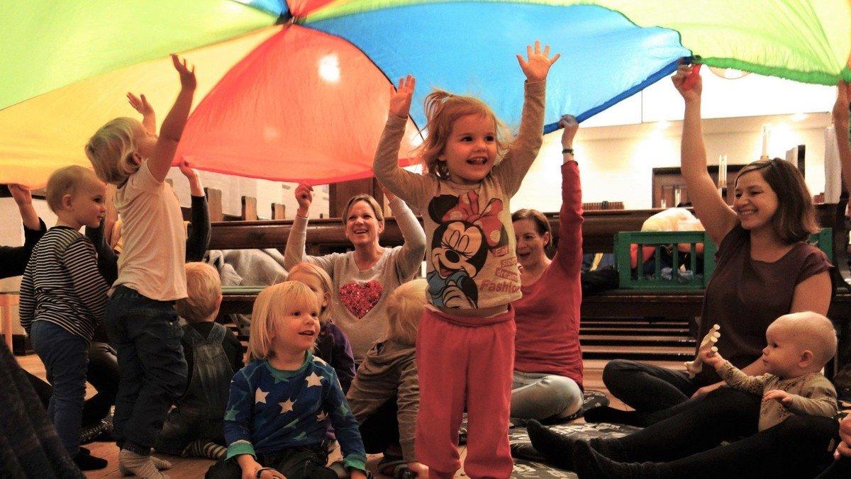 Børnerytmik fra 1-3 år - Hold 2 holder efterårsferie