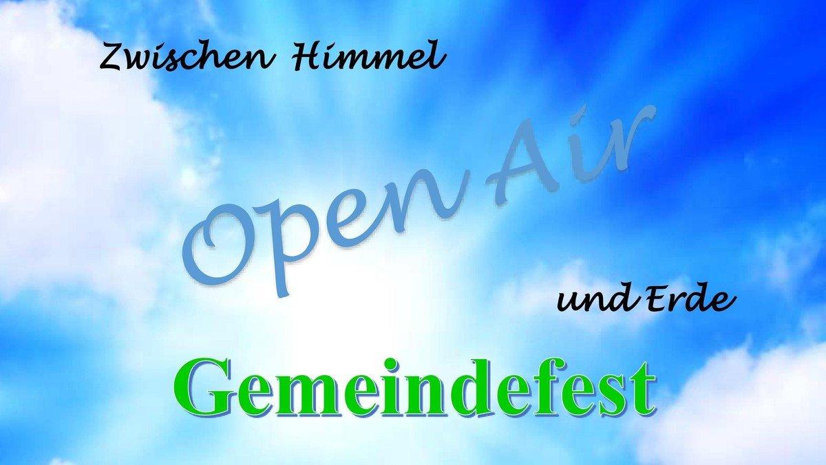 """Familiengottesdienst der Kirchengemeinde Alt-Wittenau mit Gemeindefest: """"Zwischen Himmel und Erde"""""""