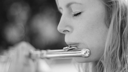 Koncert med fløjte og klaver