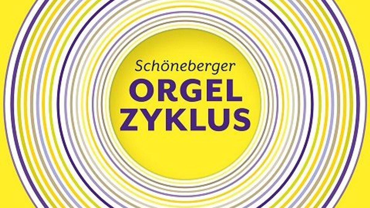 SCHÖNEBERGER ORGELZYKLUS   BACH IM ZENTRUM, VOR UND NACH IHM  