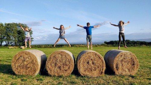 Børnegudstjeneste om høst