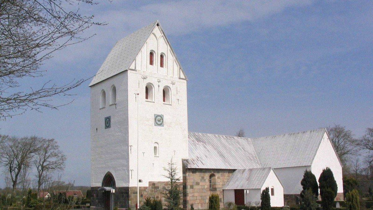 Højmesse, Hvidbjerg Kirke m/ dåb