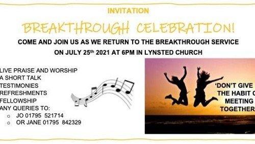 Breakthrough Celebration