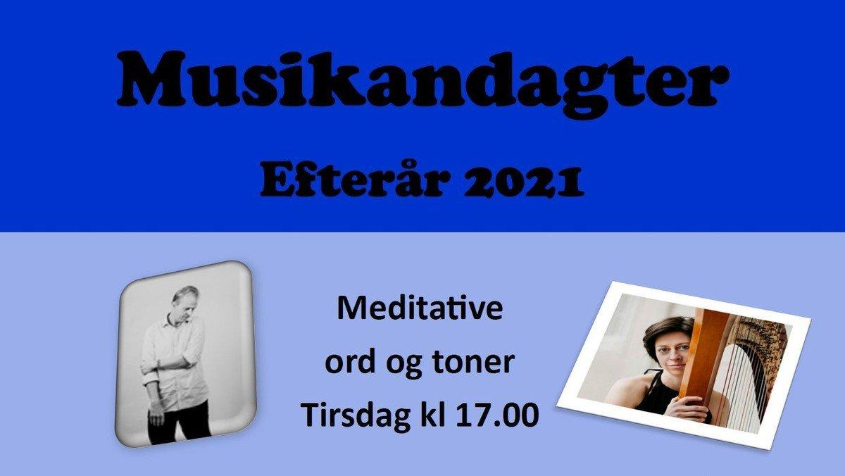 Musikandagt - m. cd-release