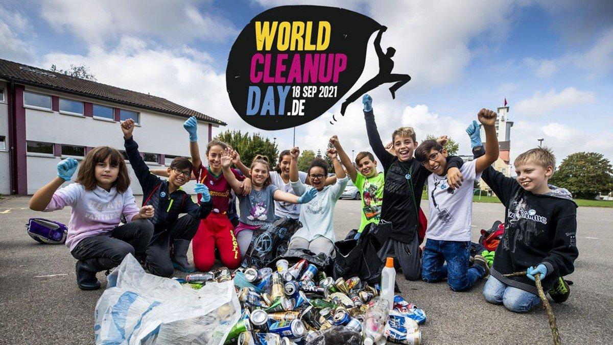 WORLD CLEAN UP DAY auch in Schmöckwitz - wir sind dabei!